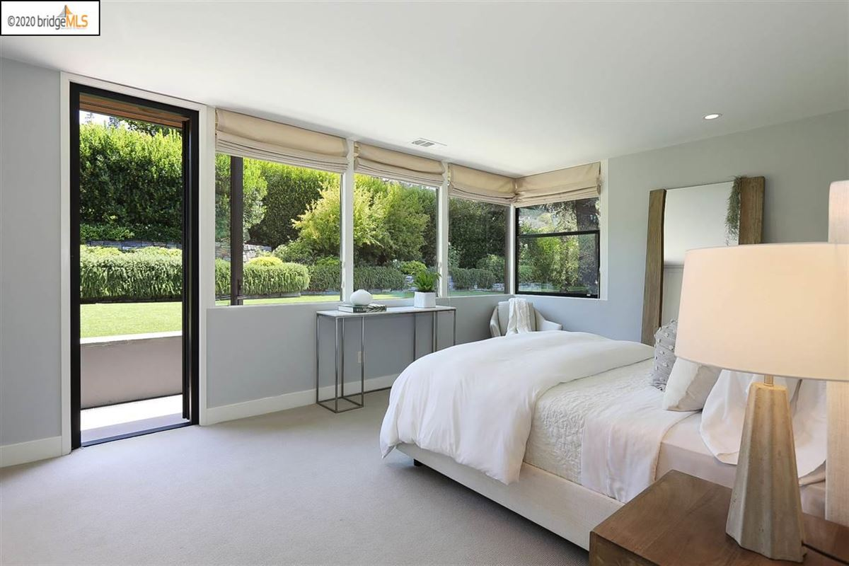 tranquil mid-century modern residence luxury properties