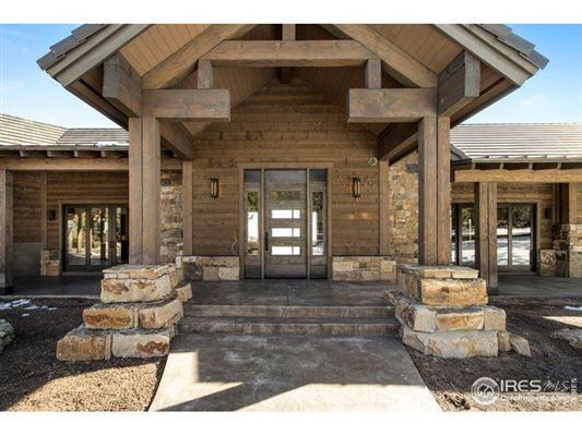 Luxury real estate Beautiful timber-frame home on 23 private acres