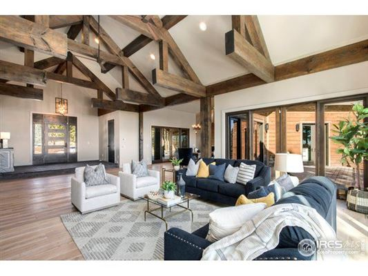Luxury homes in Beautiful timber-frame home on 23 private acres