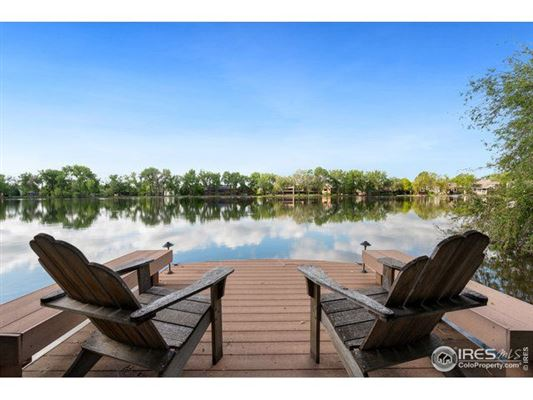 Lakefront Property in the Heart of Fort Collins, CO luxury homes
