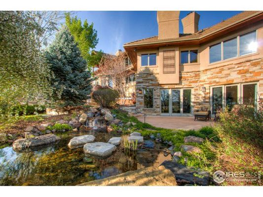 Luxury real estate majestic home with 180-degree mountain views