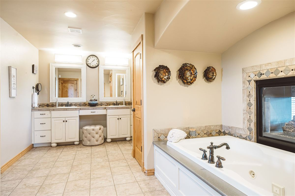 Luxury real estate Custom home on large lot backing to acres of private open space