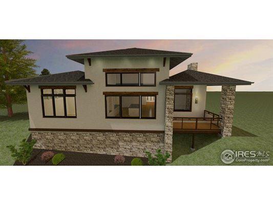 Luxury homes striking ranch home
