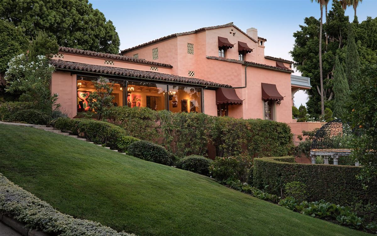 The Beverly House luxury real estate