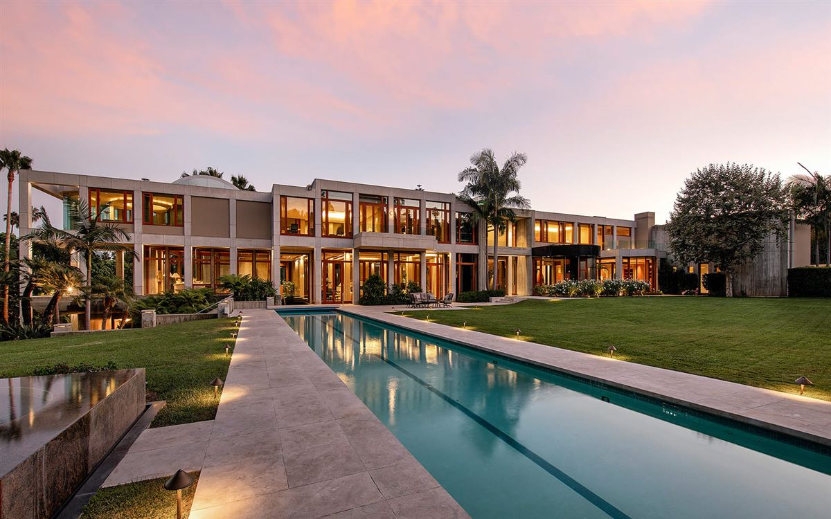 The Glazer Estate mansions