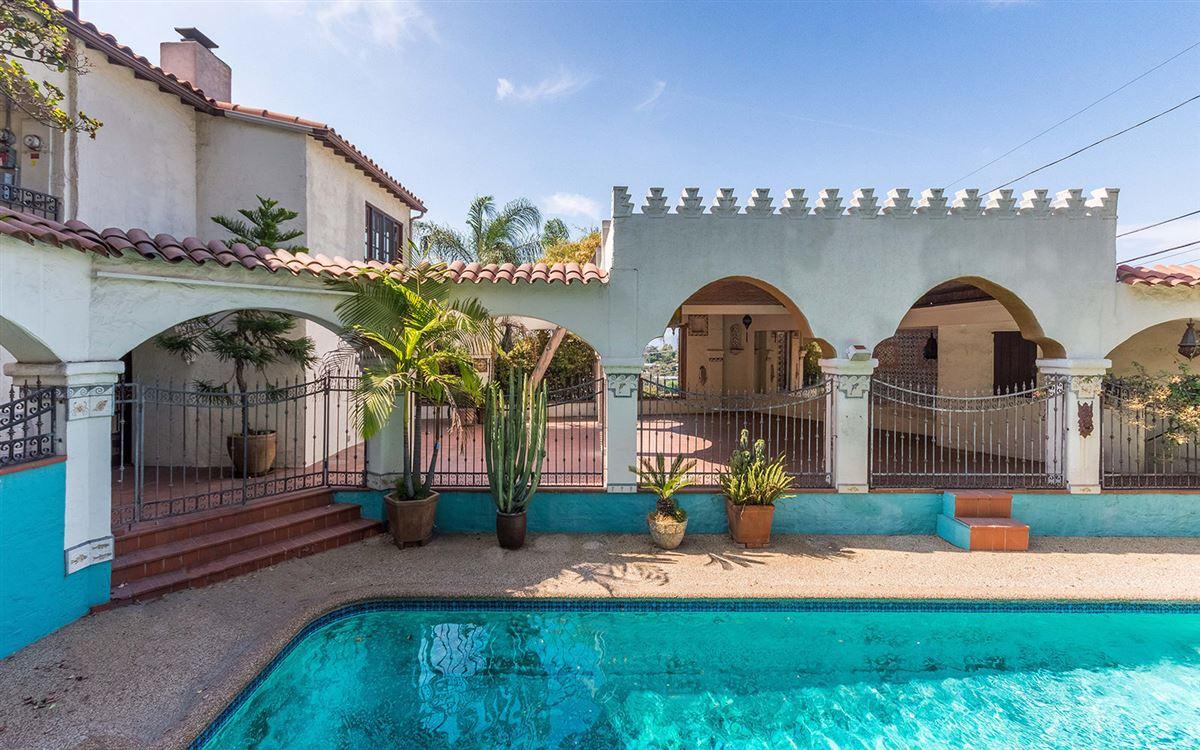 Luxury homes Unique gated four bedroom Spanish Hacienda