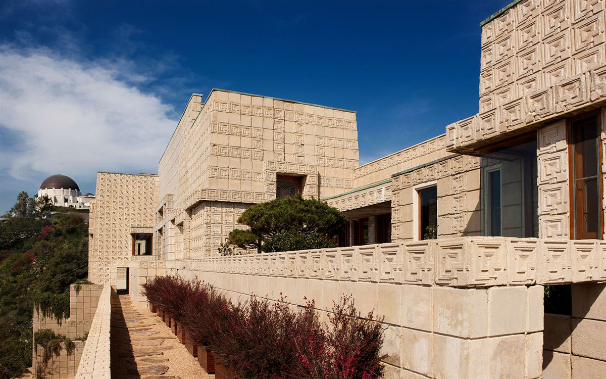 The ENNIS HOUSE in los angeles luxury real estate