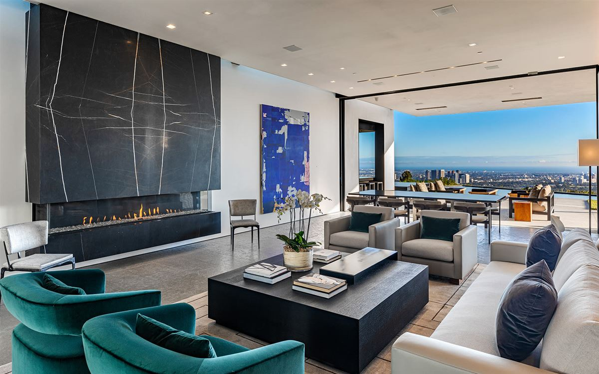 expertly crafted Trousdale Estates residence luxury real estate