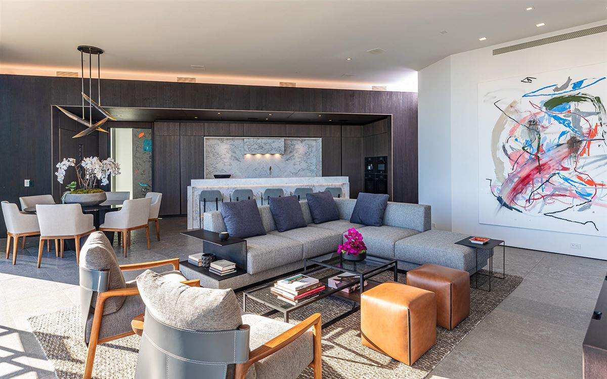 Mansions expertly crafted Trousdale Estates residence