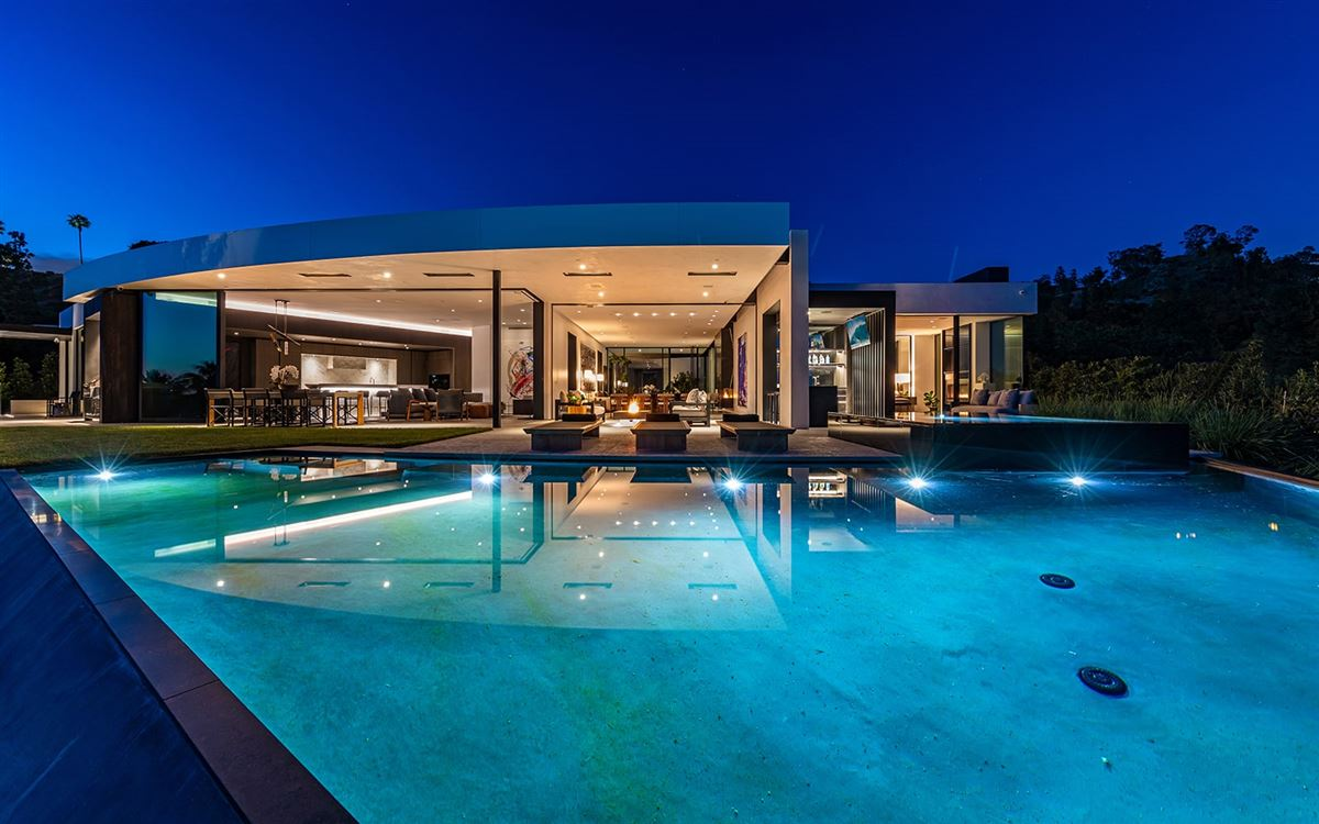 Luxury real estate expertly crafted Trousdale Estates residence