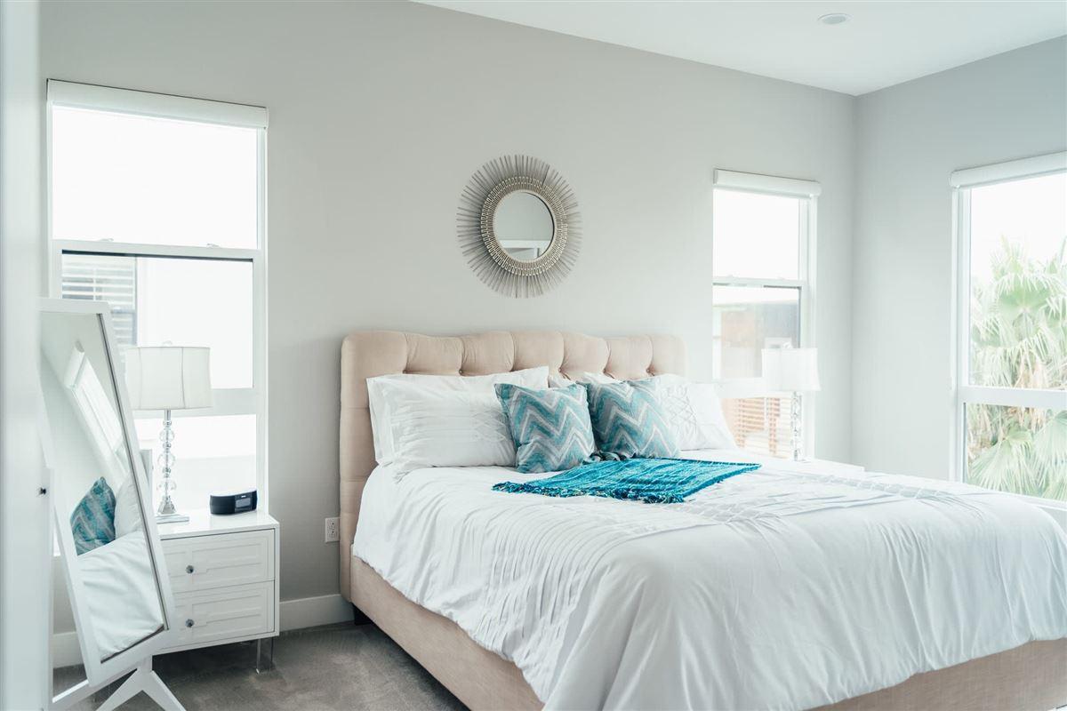 beautifully designed top floor single level condo at CLEO luxury properties