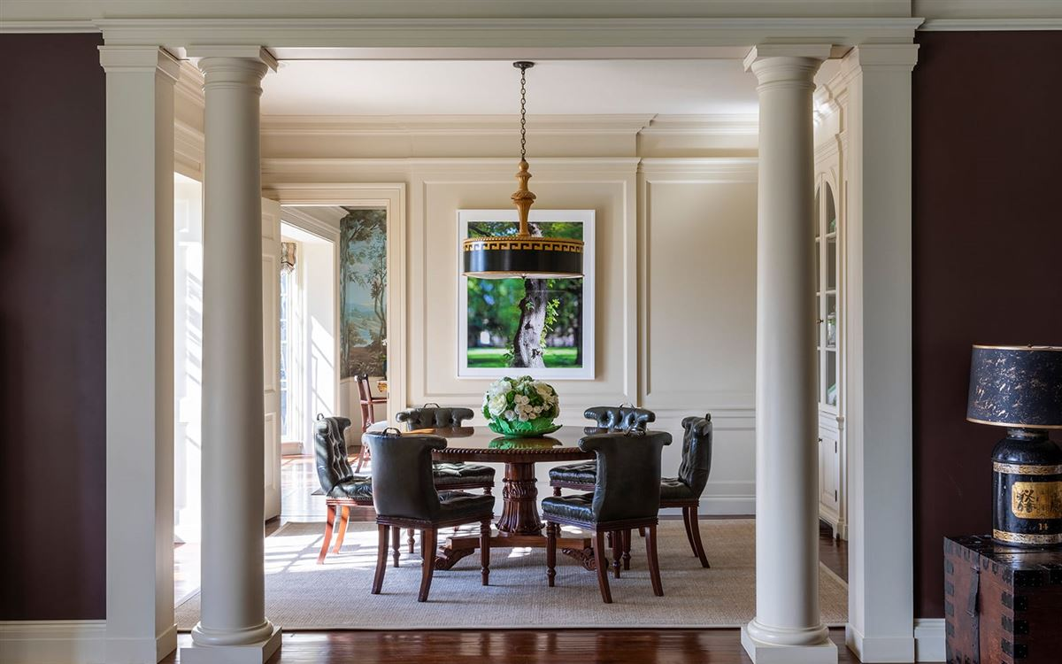 Holmby Hills georgian traditional masterpiece  luxury real estate