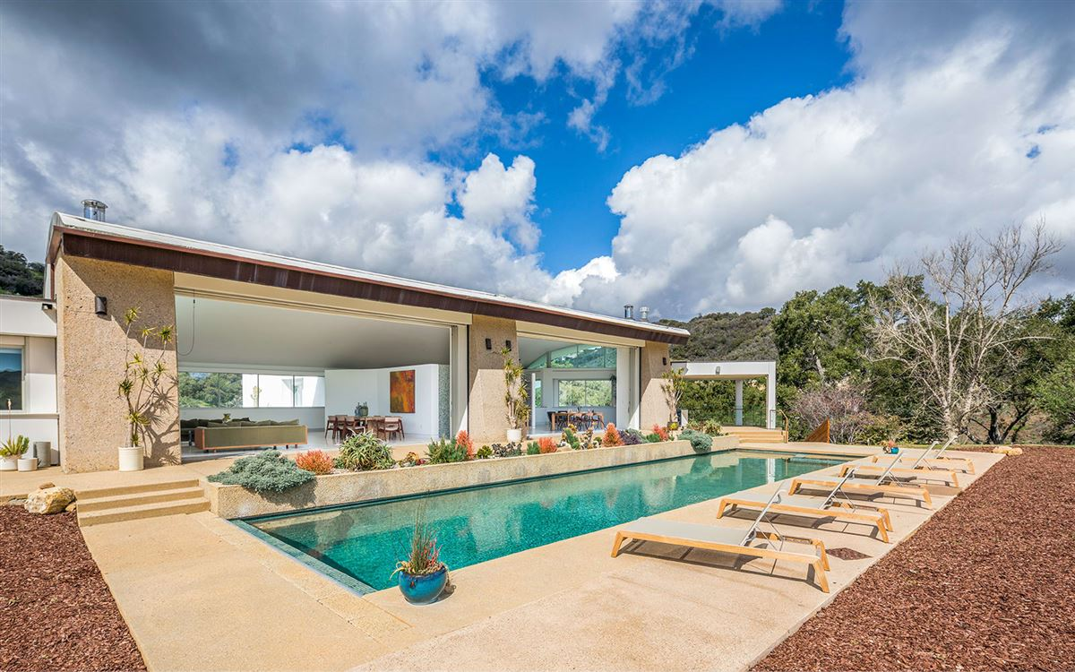 Luxury homes in architectural masterpiece in Topanga