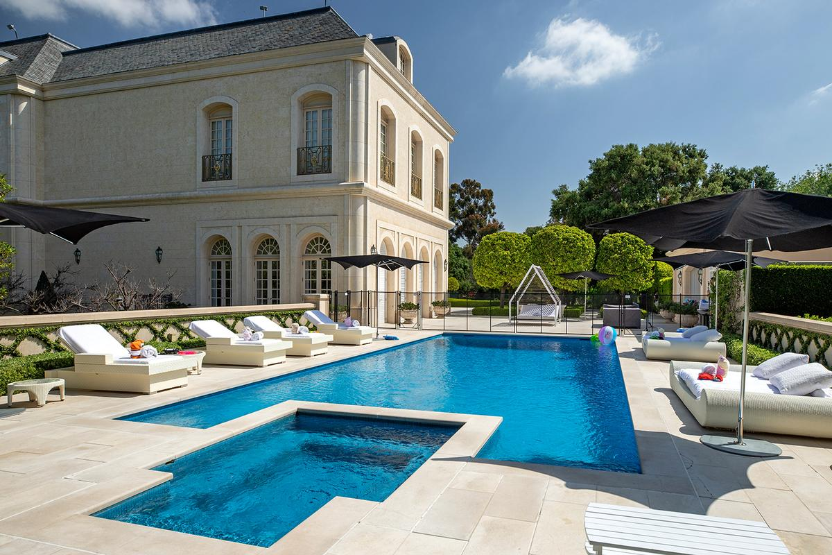 The Manor Holmby Hills California Luxury Homes