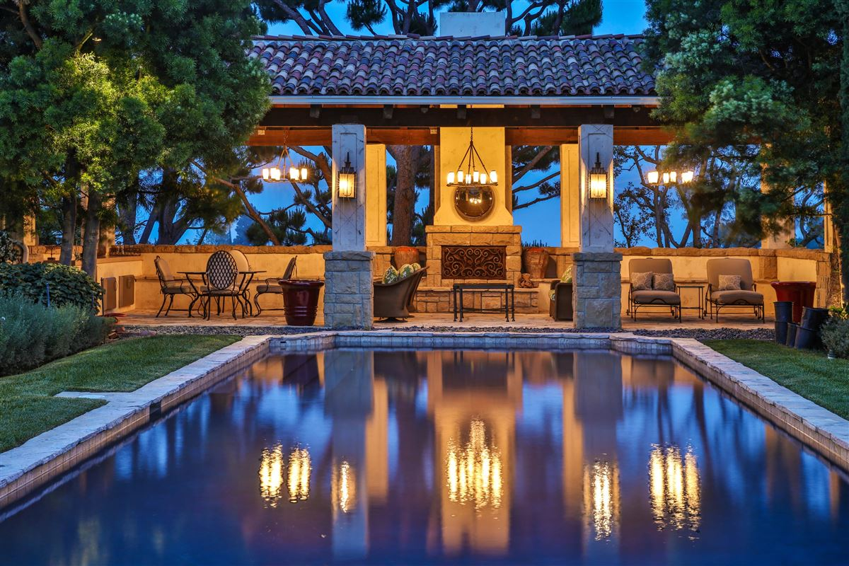 Luxury homes premier estate on over five acres
