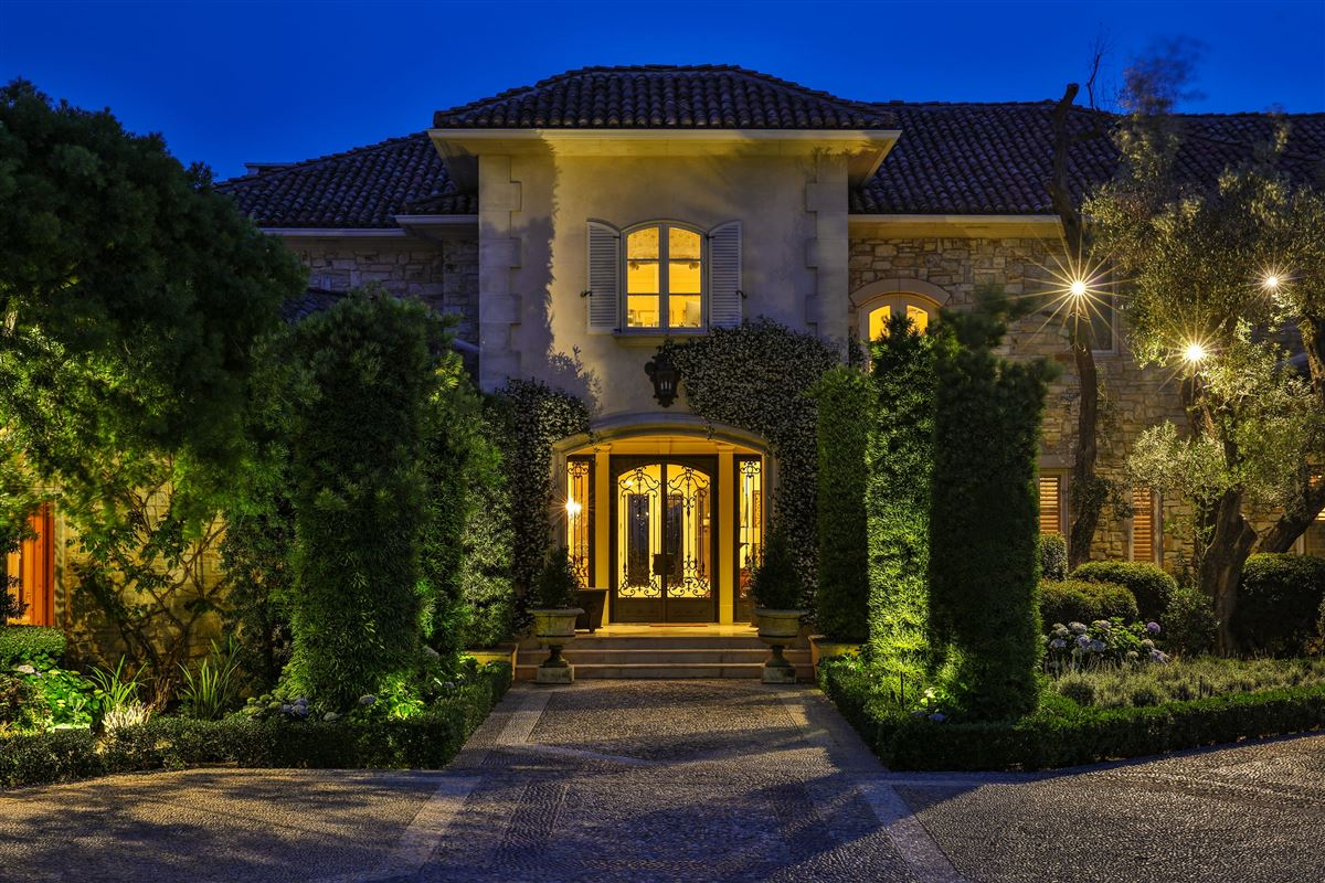 premier estate on over five acres luxury homes