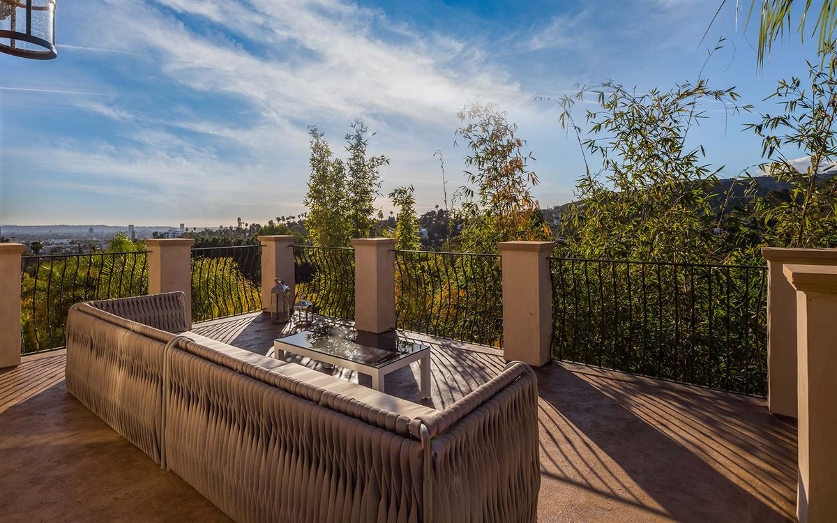 Majestic gated Hollywood Hills compound  luxury real estate