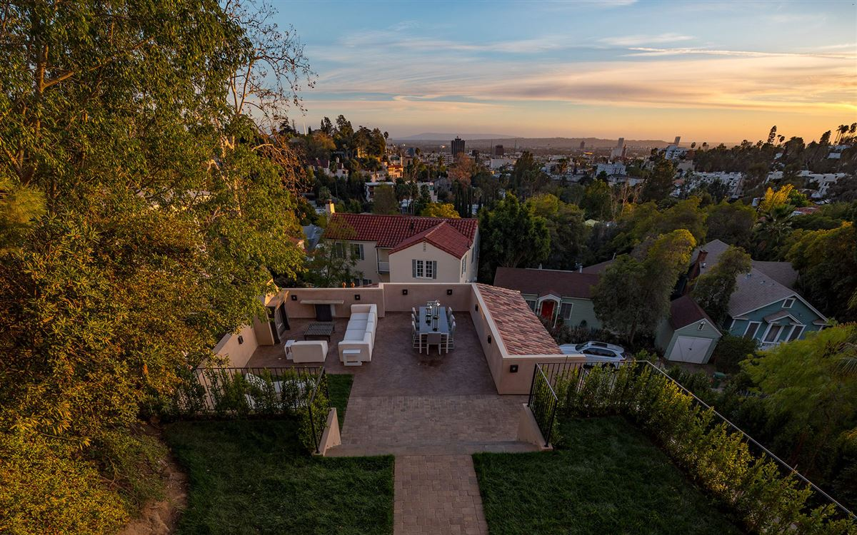 Luxury properties Majestic gated Hollywood Hills compound