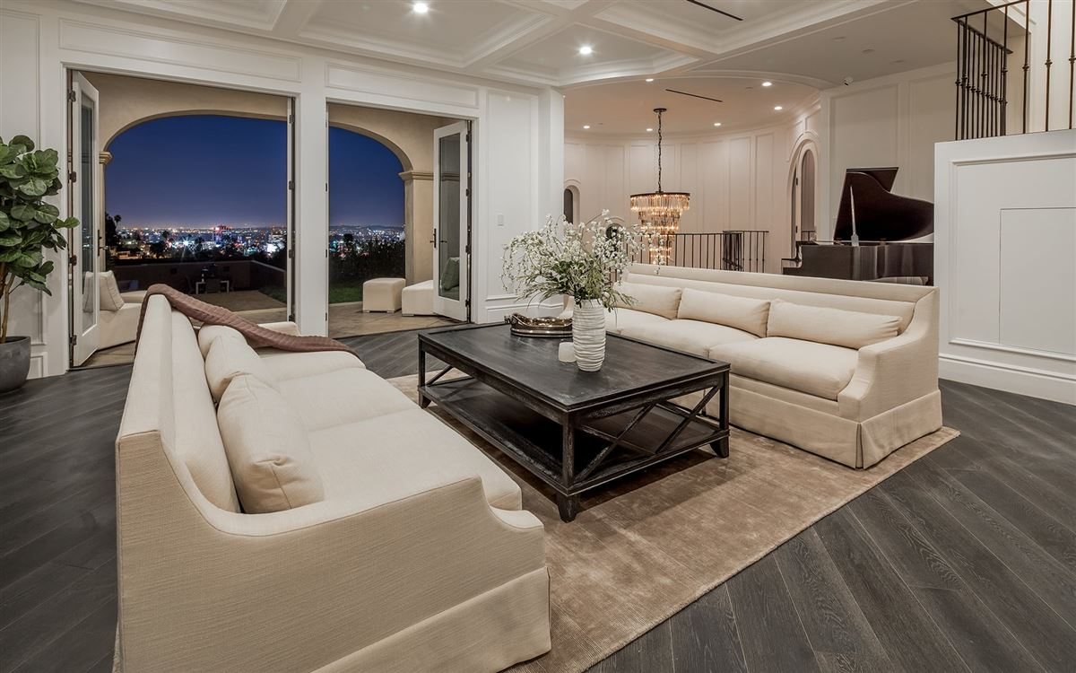 Mansions Majestic gated Hollywood Hills compound