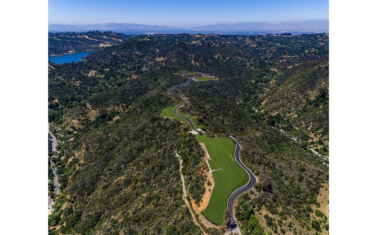 The Enchanted Hill above beverly hills luxury homes