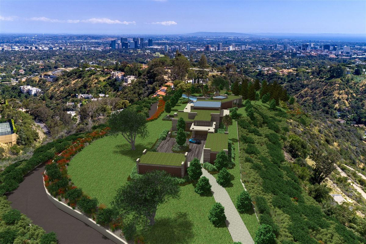 Luxury real estate The Enchanted Hill above beverly hills
