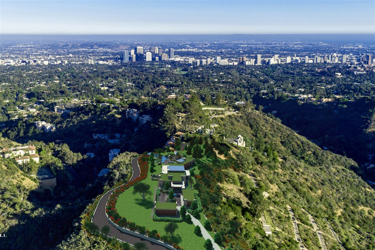 The Enchanted Hill above beverly hills luxury real estate
