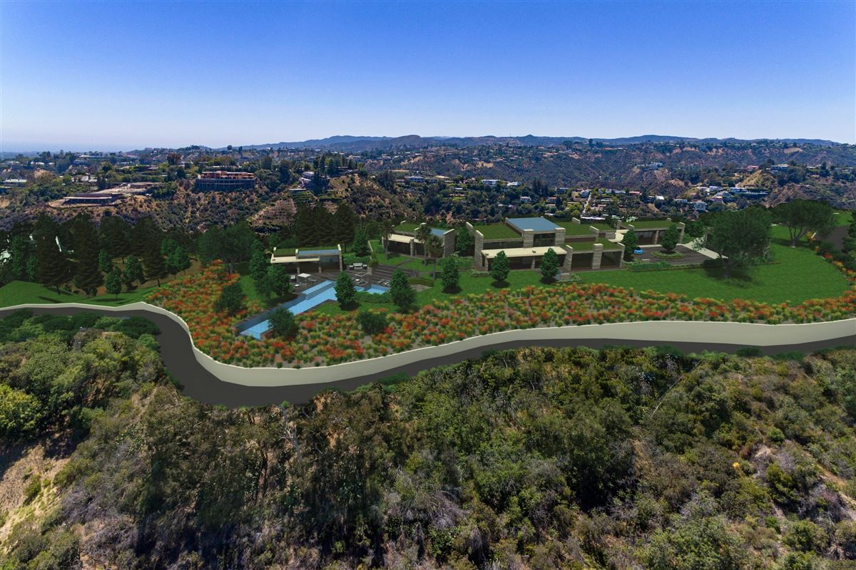Luxury properties The Enchanted Hill above beverly hills