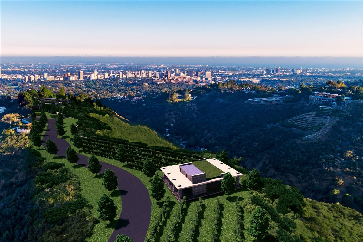 The Enchanted Hill above beverly hills luxury properties