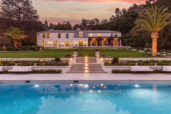 One Of The Finest Estates In Los Angeles California
