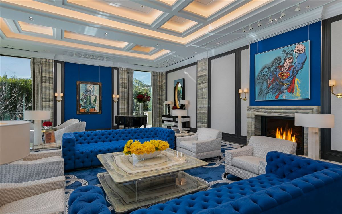 a singular Beverly Hills city estate luxury properties