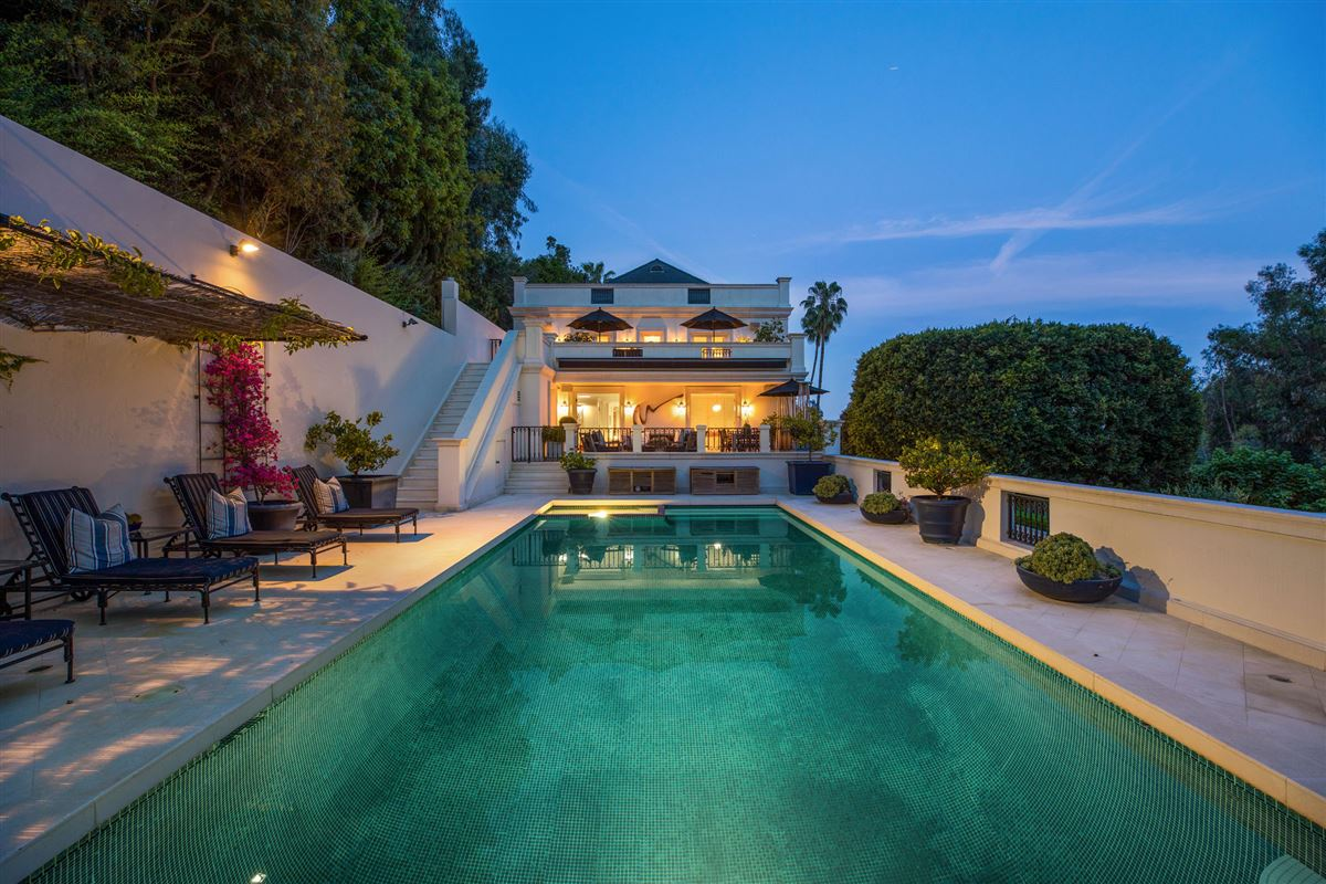 Luxury properties One of the finest examples of Bel-Air living