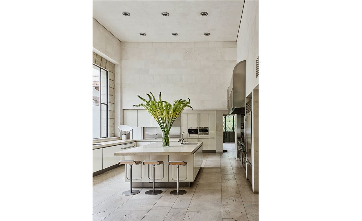a work of art in Holmby Hills luxury homes