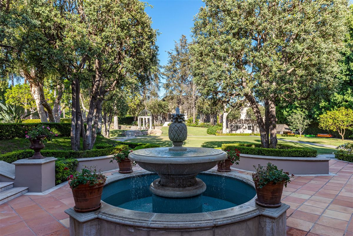 the largest property in the Beverly Hills Flats luxury real estate