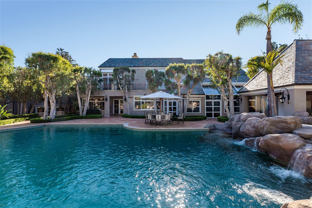 Luxury properties the largest property in the Beverly Hills Flats