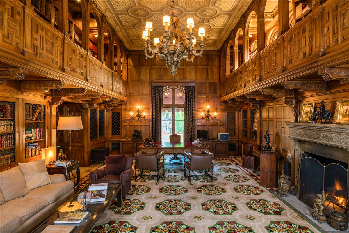 The Hearst Estate mansions