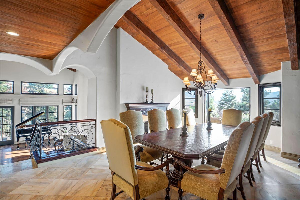 Custom gated Mediterranean compound luxury homes