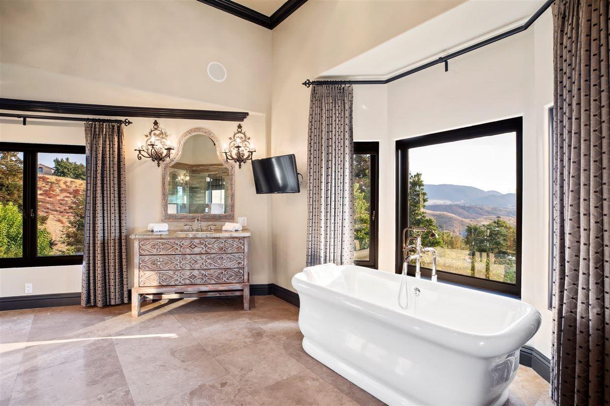 Custom gated Mediterranean compound luxury properties