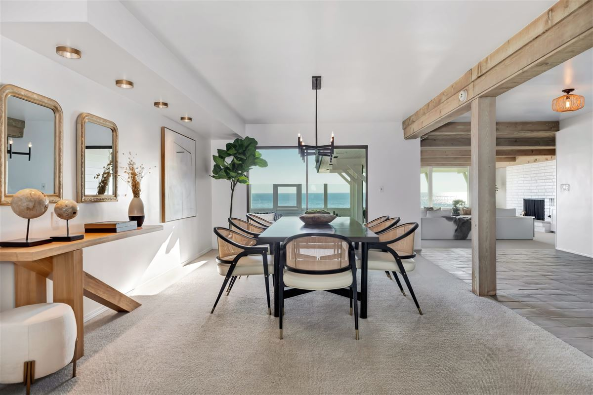 Luxury homes in true iconic mid-century land-side and ocean-side compound