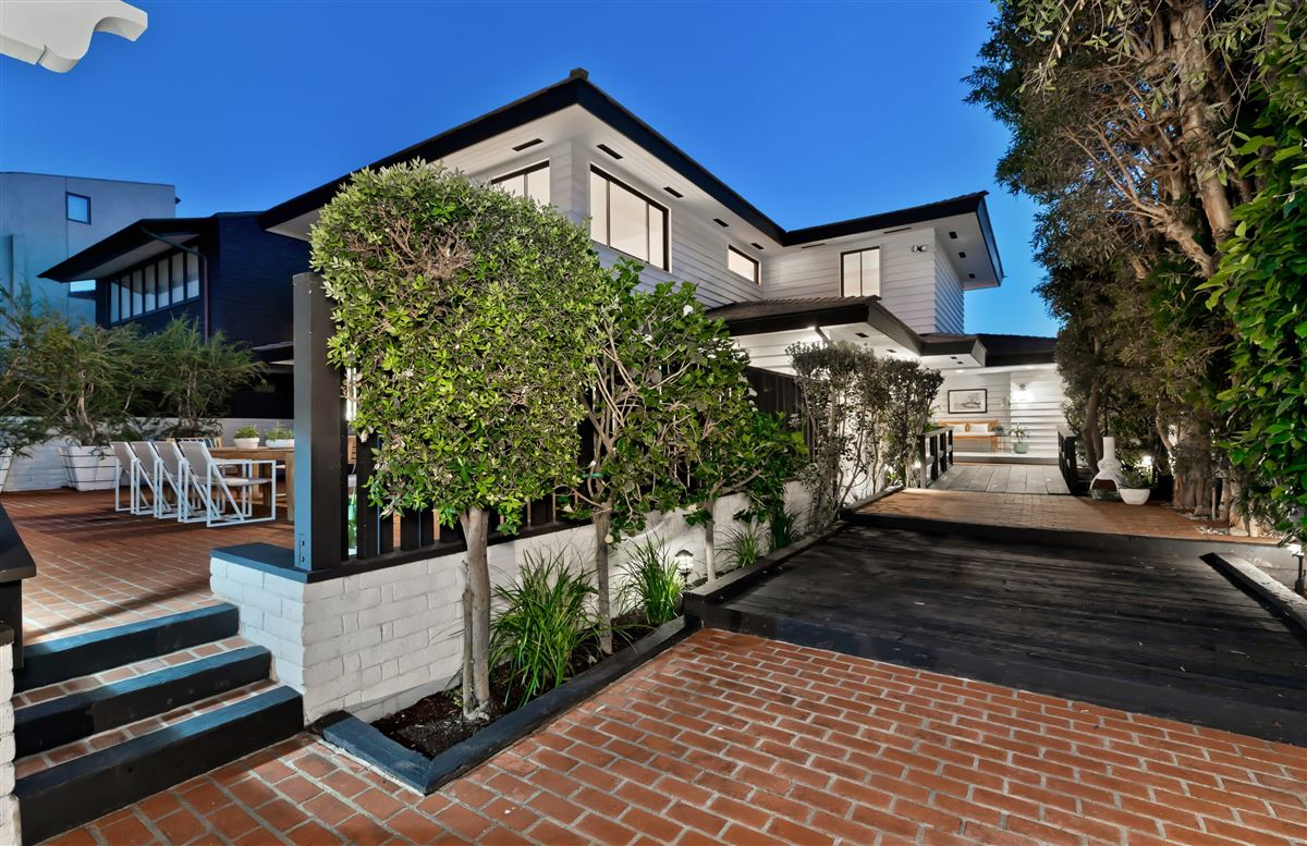 true iconic mid-century land-side and ocean-side compound luxury homes