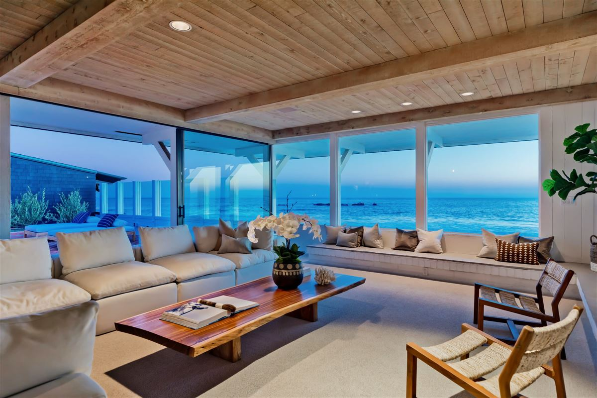 Luxury real estate true iconic mid-century land-side and ocean-side compound