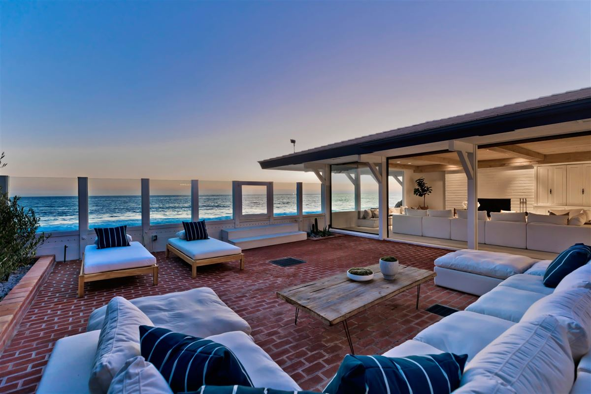 true iconic mid-century land-side and ocean-side compound luxury real estate