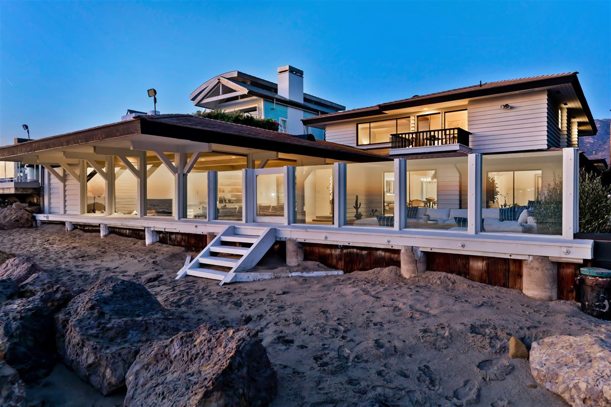 Luxury properties true iconic mid-century land-side and ocean-side compound