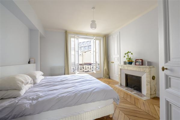 Luxury properties floor-through apartment with a view of the Seine