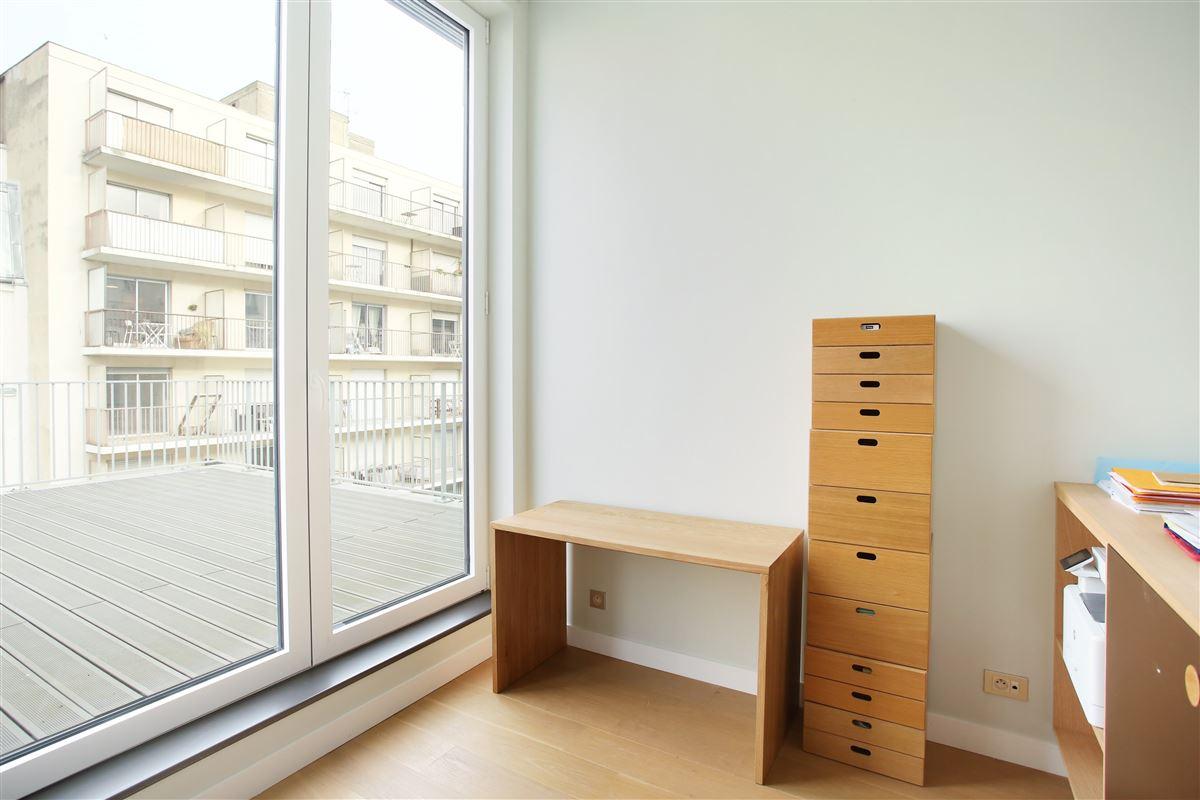 Luxury real estate top floor duplex apartment