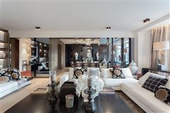 Mansions in meticulously renovated paris apartment