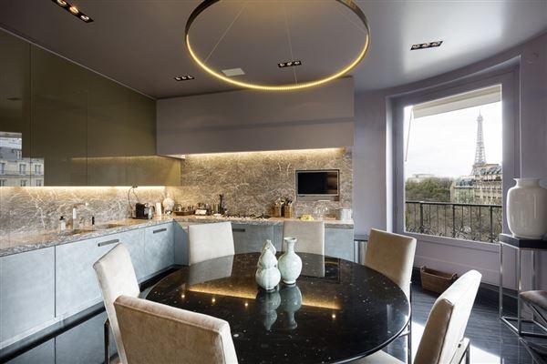 meticulously renovated paris apartment luxury properties