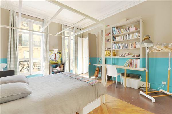 Luxury real estate beautiful paris apartment
