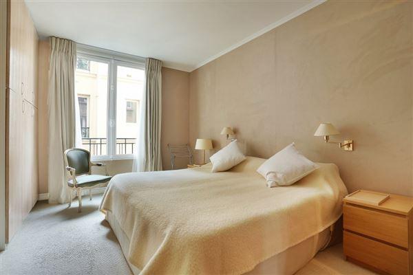Luxury real estate third floor rental in a charming building