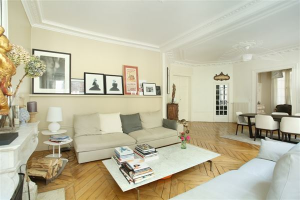 Luxury real estate tastefully furnished and elegant apartment