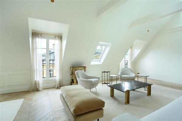 Luxury homes split-level apartment on Rue Saint-André des Arts
